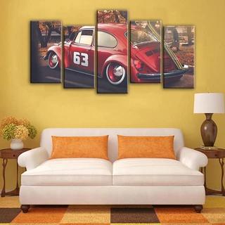 Volkswagen Beetle Car In 2020 Cars Canvas Wall Art Canvas Wall Art Beetle Car