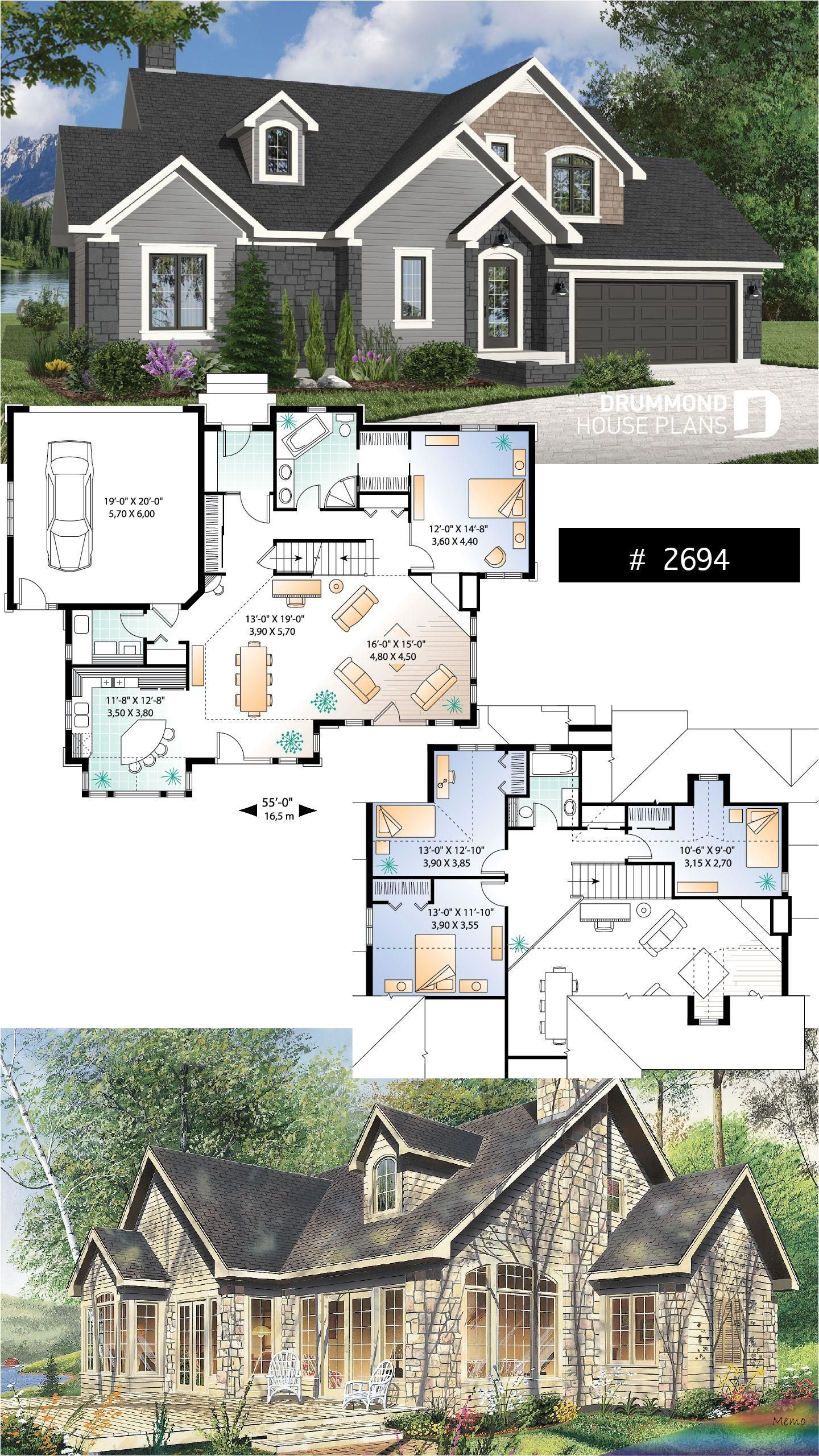 Jan 23 2019 Entirely Open Activity Area Towards The Back Of The House Cathedral Ceiling In Living Room And D In 2020 Sims House Design Sims House Plans House Plans