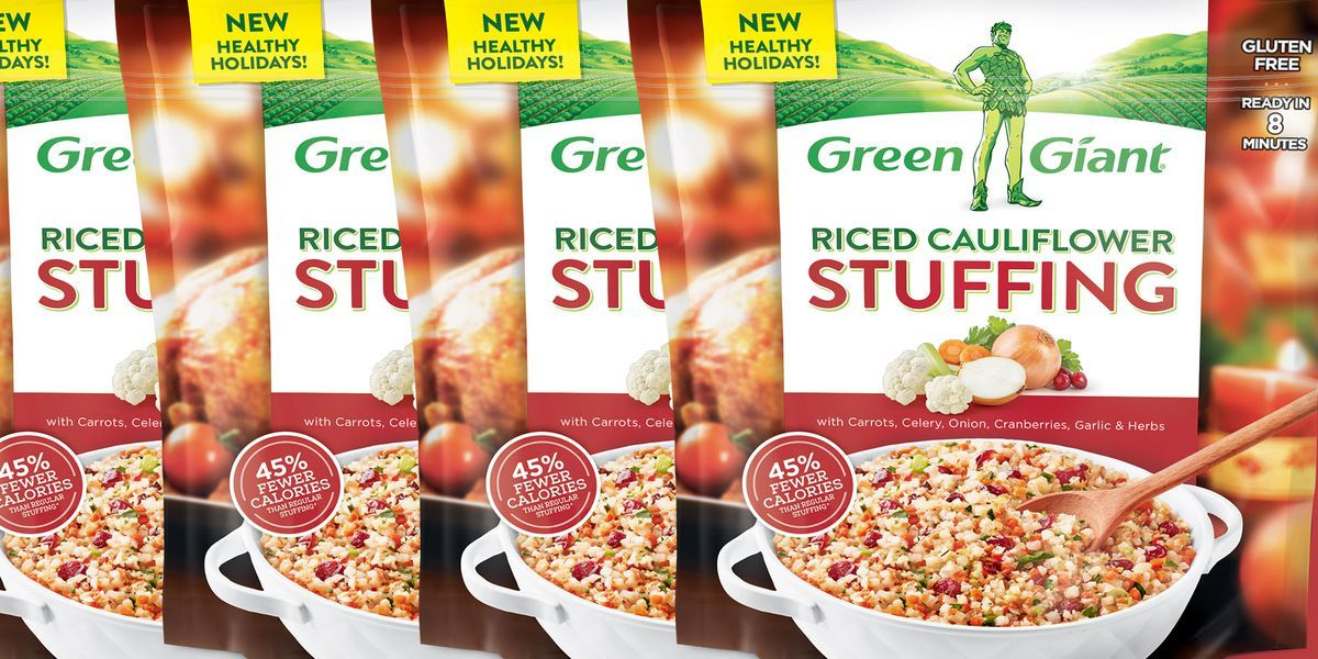 Green Giant Is Selling Riced Cauliflower Stuffing Just In