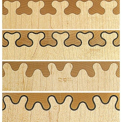 leigh isoloc hybrid dovetail templates - leigh isoloc b joint templates for d4rm dovetail jig
