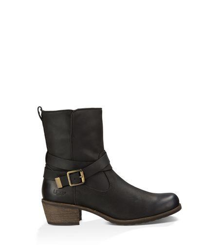 Original UGG® Kristin Leather Bottes Classic pour Femme UGG® sur le site  officiel UGG®. Livraison et retours gratuit.   Bottes d19b4aa218ee