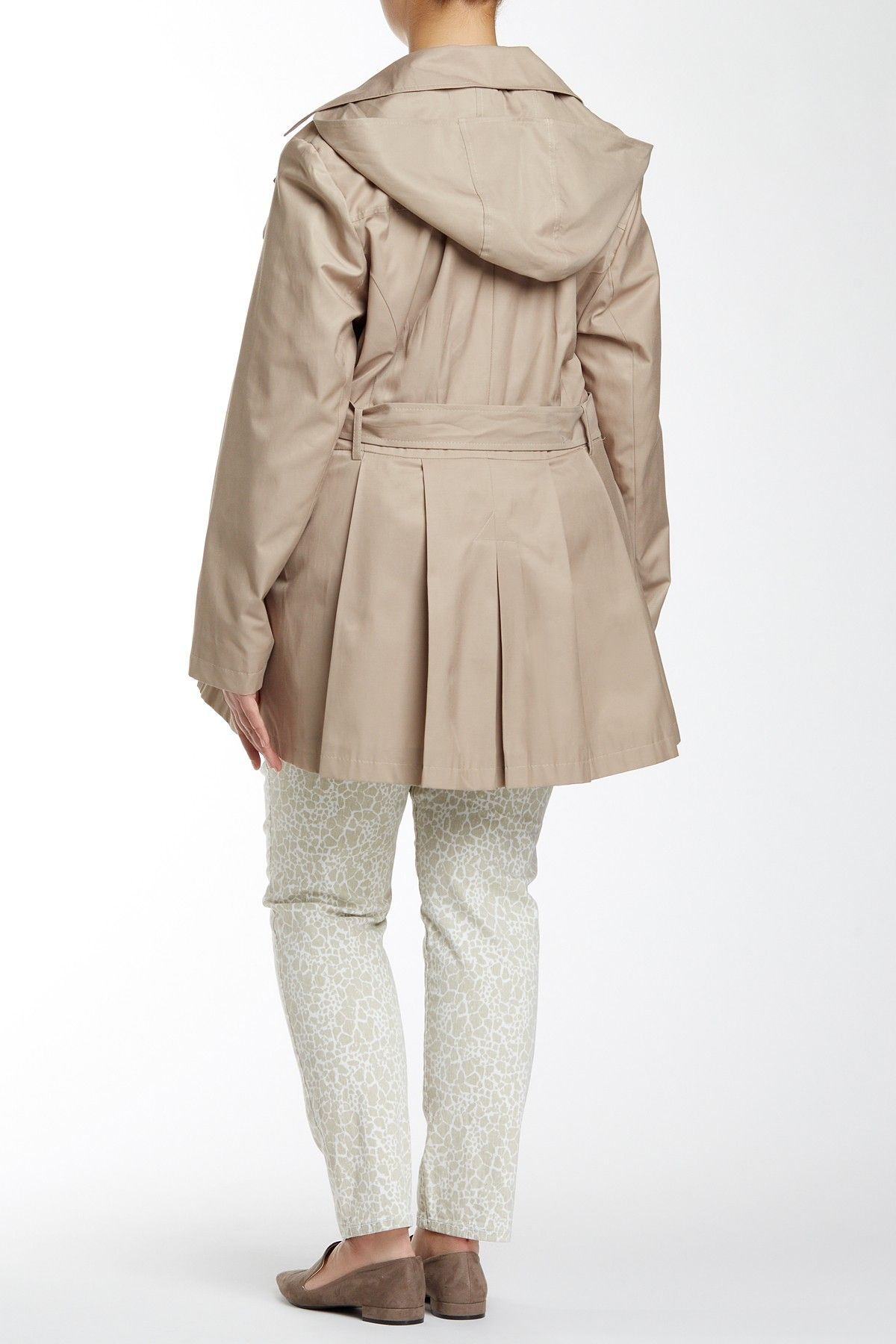 Hooded Scarpa (Plus Size) by Via Spiga on @nordstrom_rack