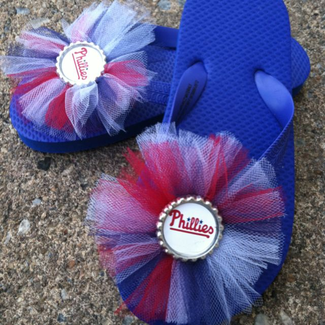 Phillies Blue Flop ~ Red, White and Blue  $15  www.bubblesboutique.net