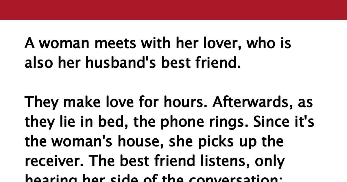 Affair my my with had wife friend an Wife of