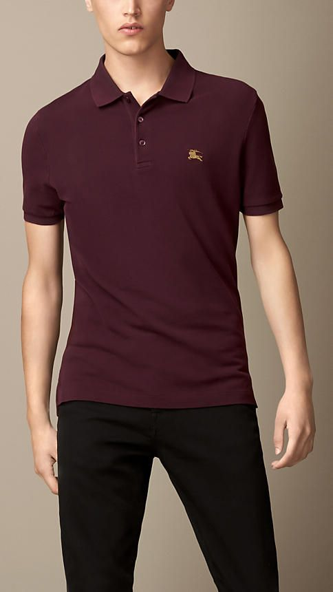 Men's Designer Polo Shirts & T-shirts | Burberry® Official ...