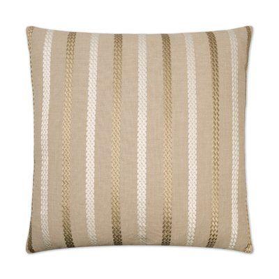D.V. Kap Cheverny Throw Pillow Color: Taupe