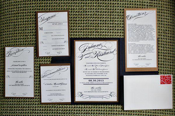 A Multicultural Black Tie Wedding in Massachusetts - Munaluchi Bridal Magazine