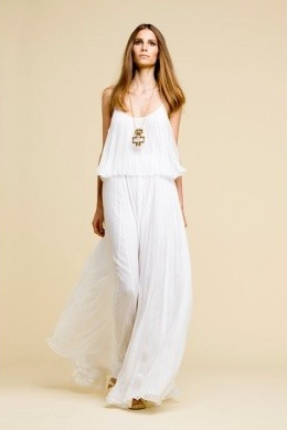 Kimberly Schlegel Whitman: Summer Style: A Long White Dress ...