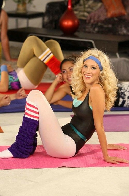 richard simmons costume female. aerobics outfit? i think so! :) richard simmons costume female