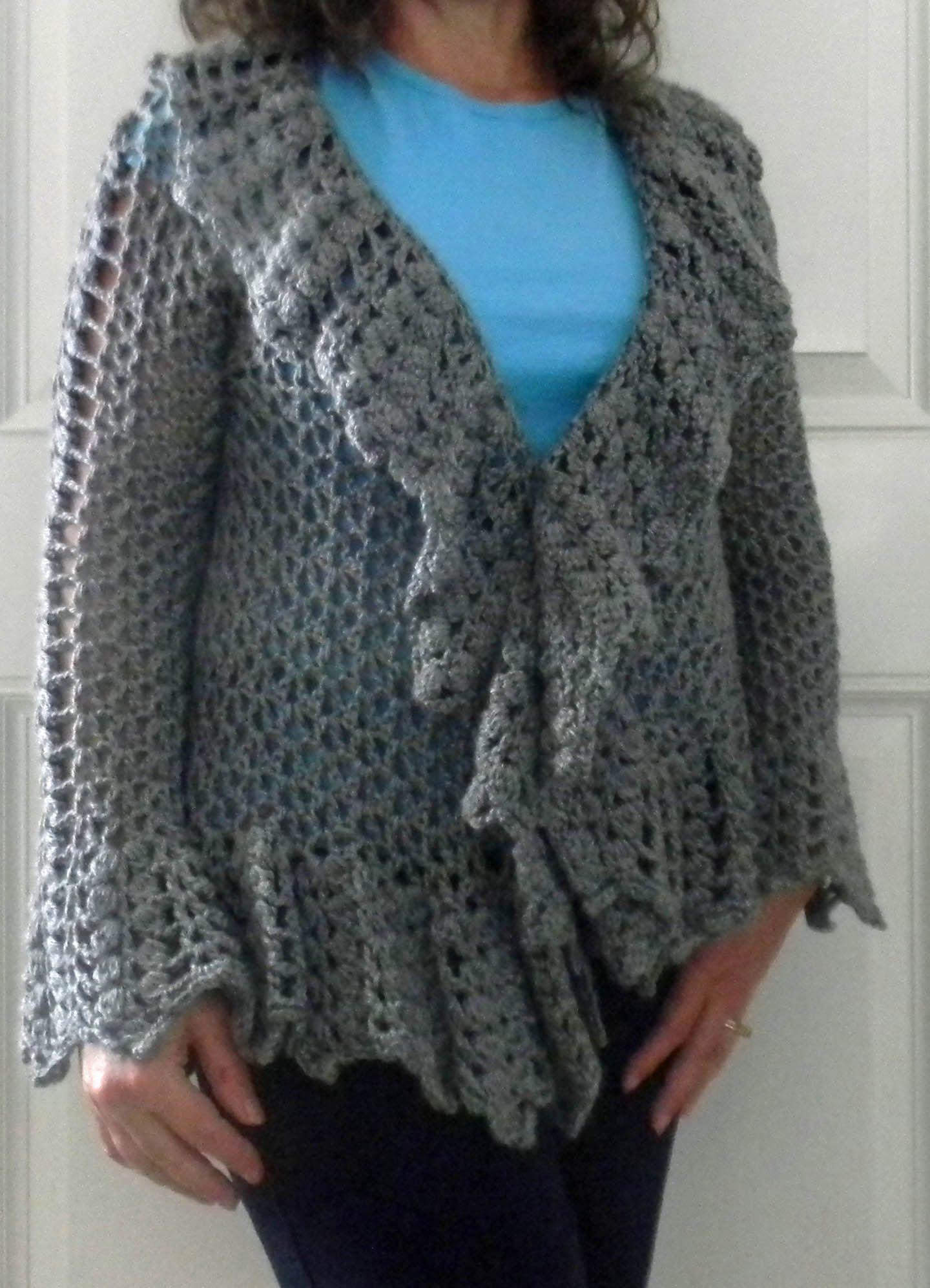 Caron circle jacket free pattern crochet pinterest free caron circle jacket free pattern bankloansurffo Image collections