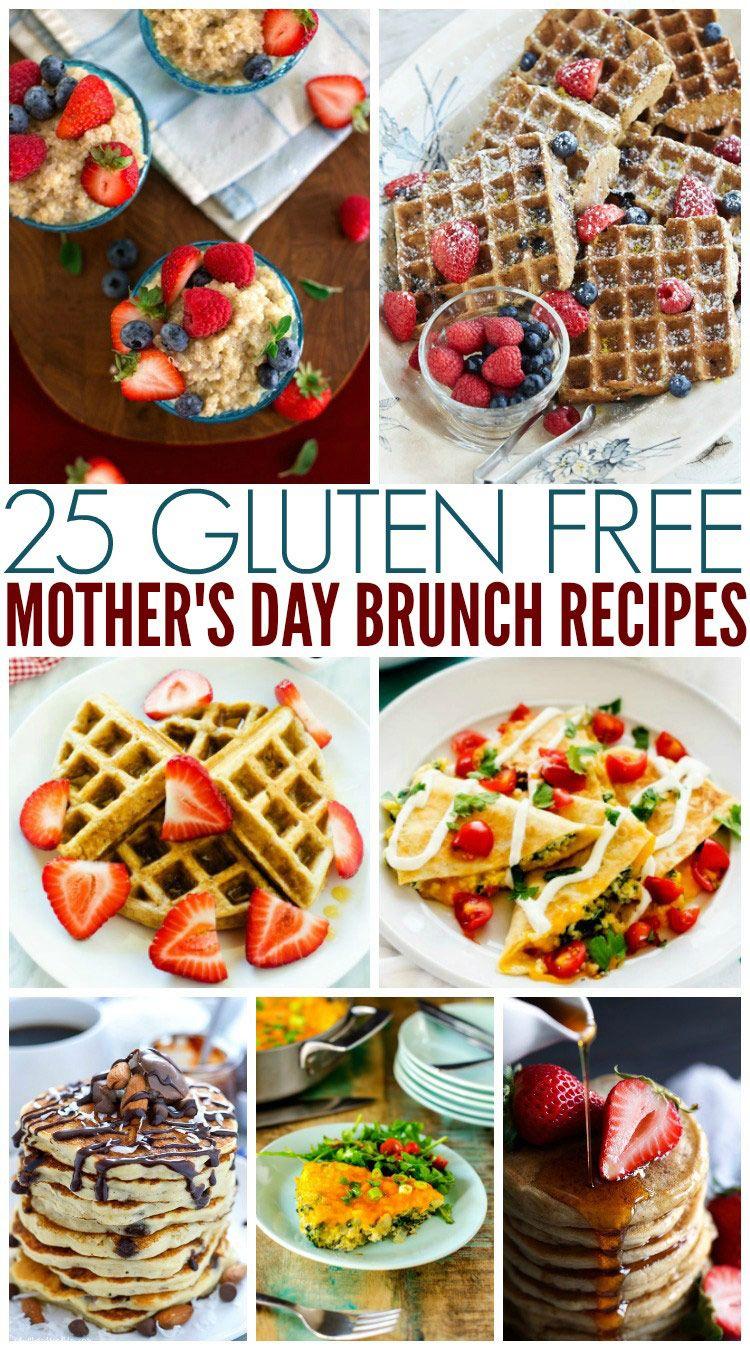 25 Gluten Free Mother's Day Brunch Recipes Gluten free