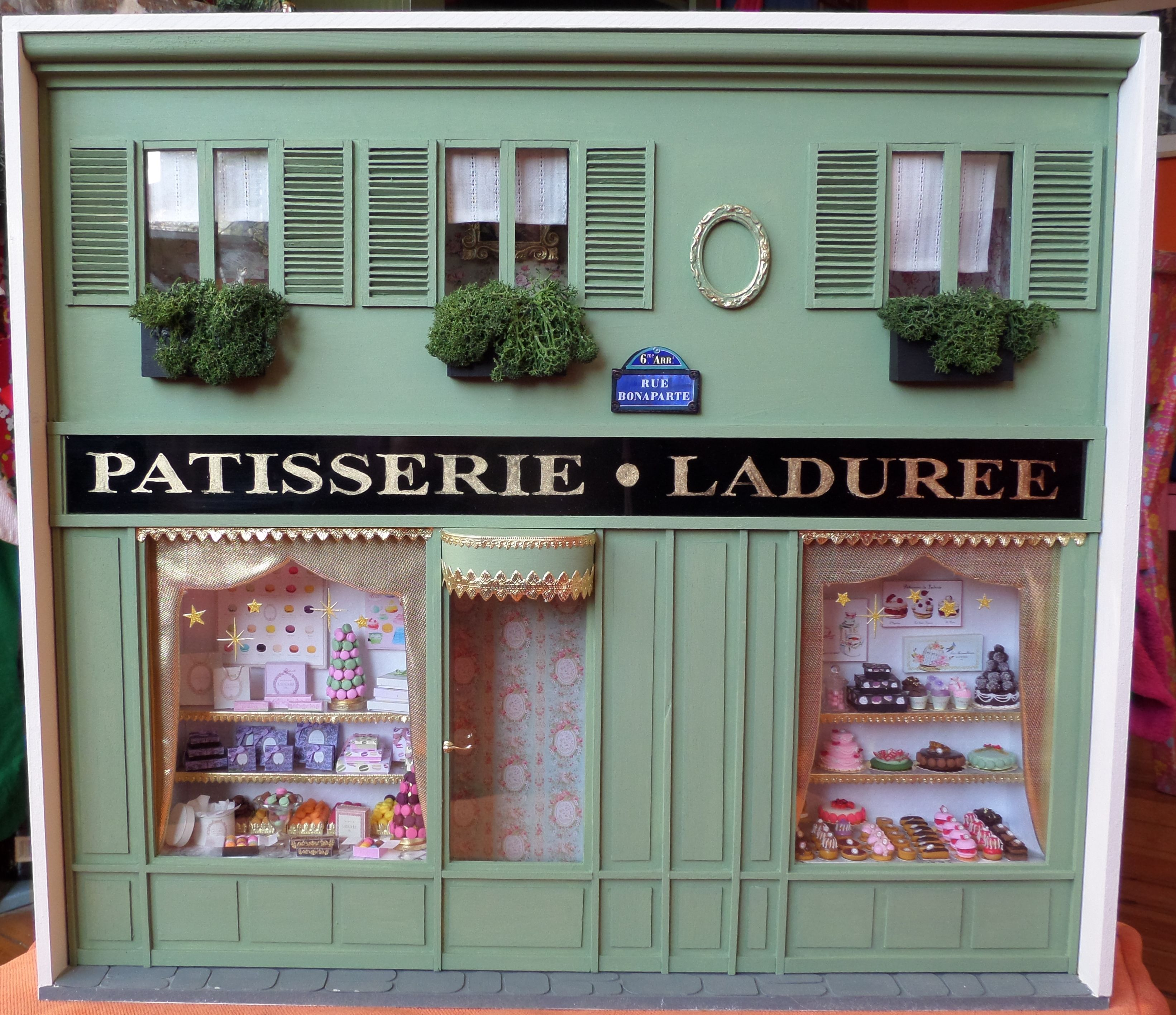 boutique ladur e miniature 1 12 me les miniatures de mathilde miniatures and dollhouses. Black Bedroom Furniture Sets. Home Design Ideas