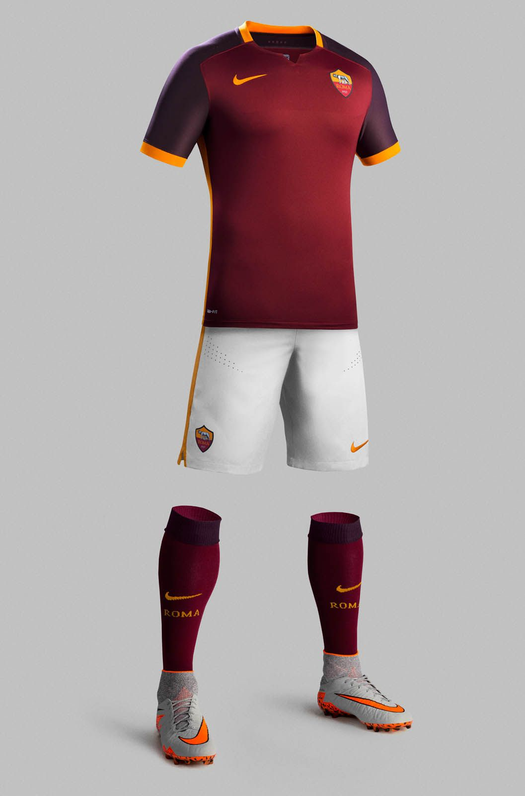 AS Roma 15-16 Kits Revealed - Footy Headlines Uniformes De Futbol 5f3ceaf3cdda6