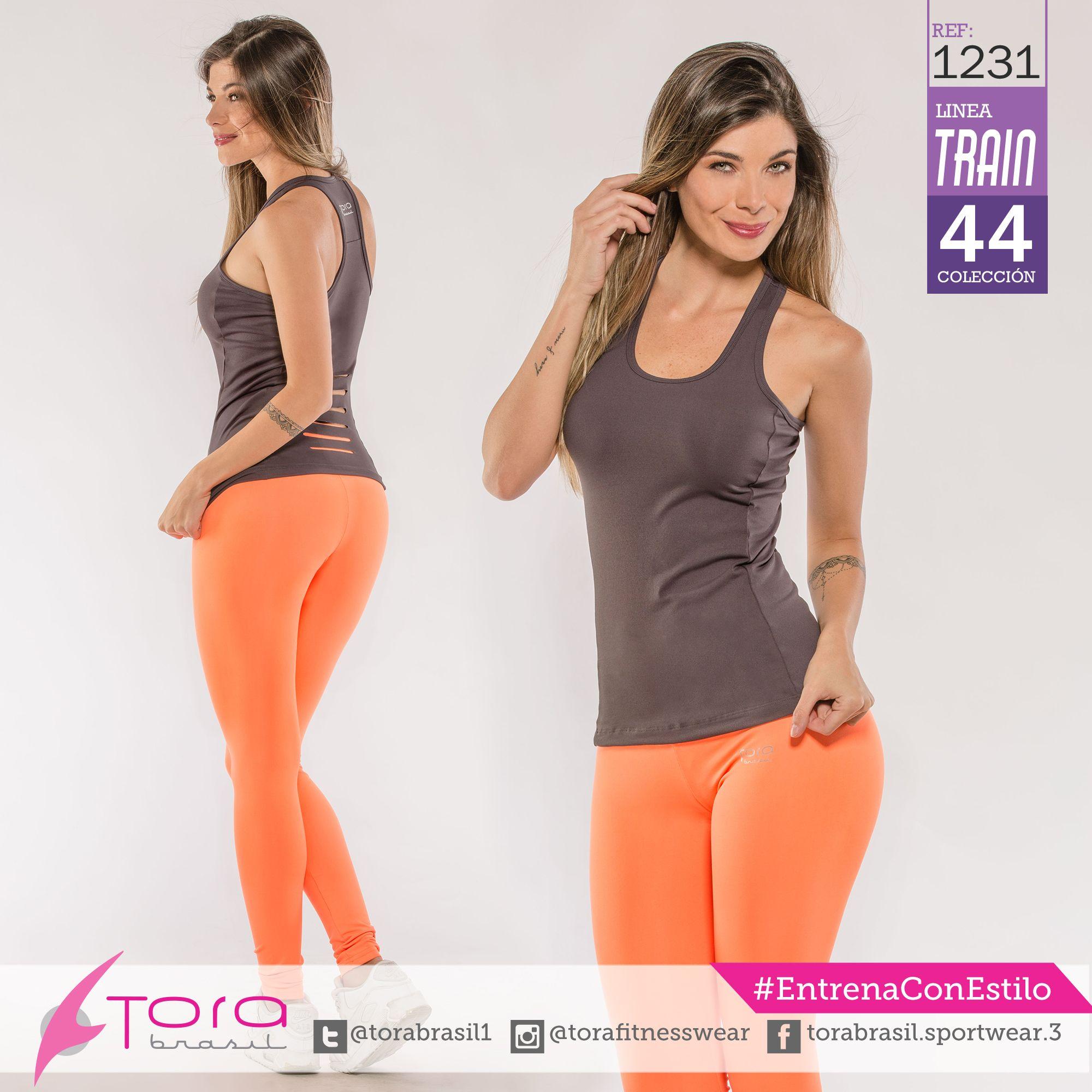 REF:1231  Leggings y blusa, unitalla #EntrenaConEstilo #FitnessFashion #Leggings #ToraBrasil #modadeportiva #gymwear