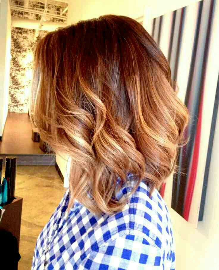 Red Blonde Ombre Short Hair Balayage Hair Hair Lengths