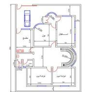 مخططات منازل صغيرة 150م House Floor Design Classic House Design House Map