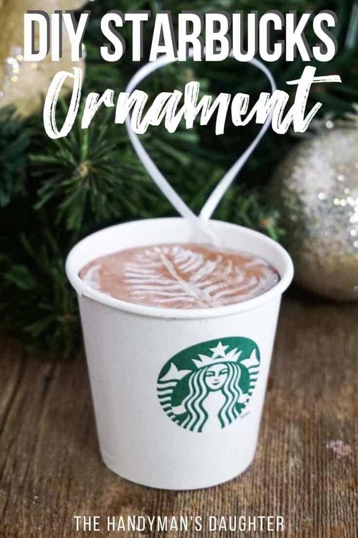 Diy starbucks ornament starbucks gift card starbucks