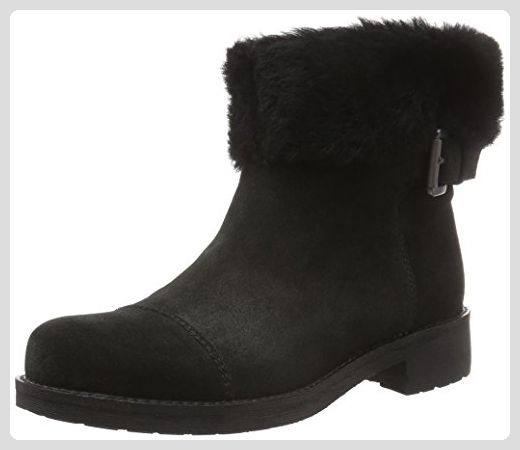 GEOX Damen Stiefel Schwarz Schuhe | Fruugo