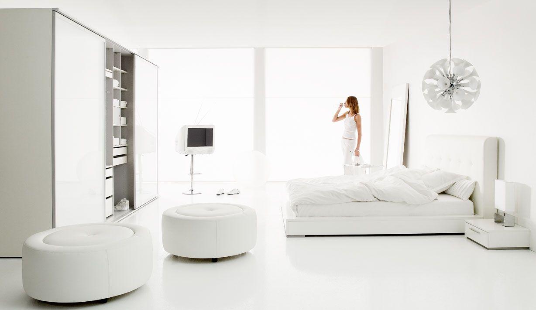 White Interior Decor krásna romantická biela spálňa | biela spálňa - white bedroom