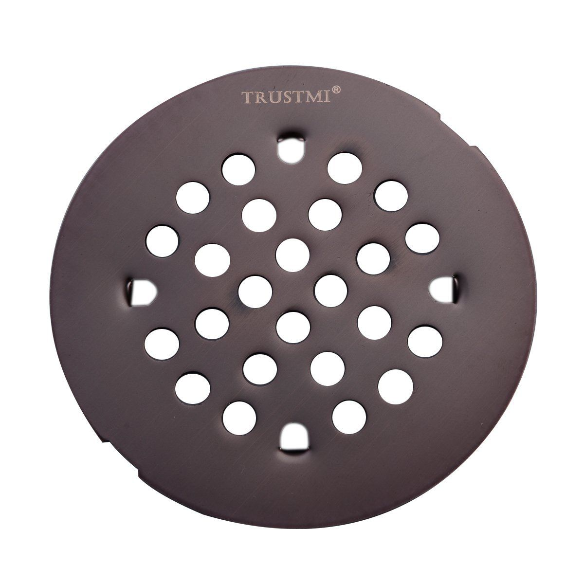 4 1 4 Inch Snap In Shower Drain Grate Oil Rubbed Bronze With