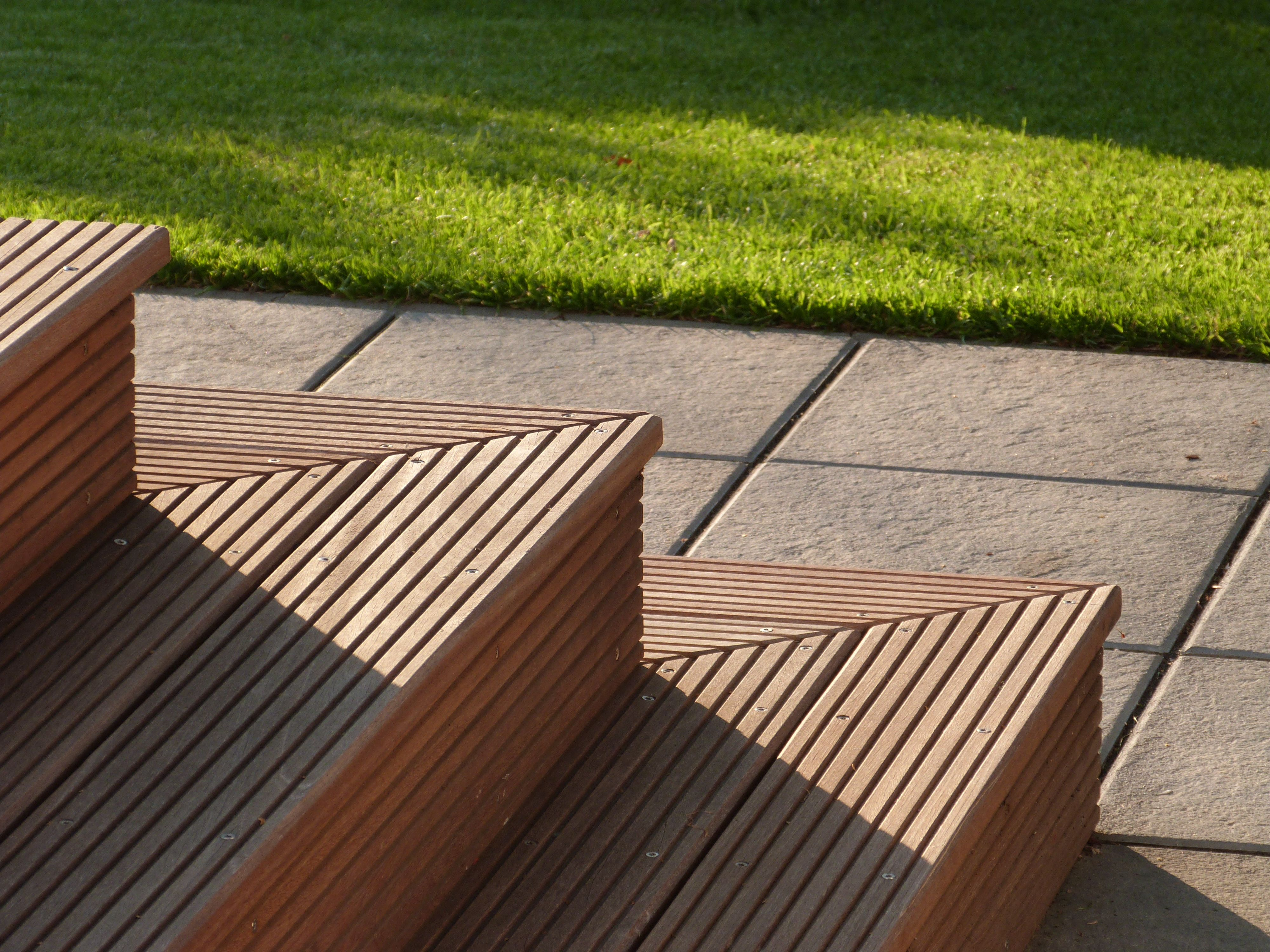 Wooden Terrace Stairs. This Is My Own Photo   The Result Of All The Ideas