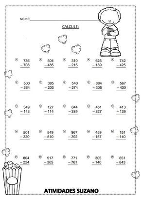 Calculando Atividades Adriana Kindergarten Reading Worksheets Math Notebooks Mathematics Worksheets