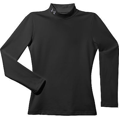 Compression and Base Layers 179828: Under Armour Coldgear Evo Mock Manche Longue Enfants Maillot Baselayer, Noir, Ys -> BUY IT NOW ONLY: $49.75 on eBay!