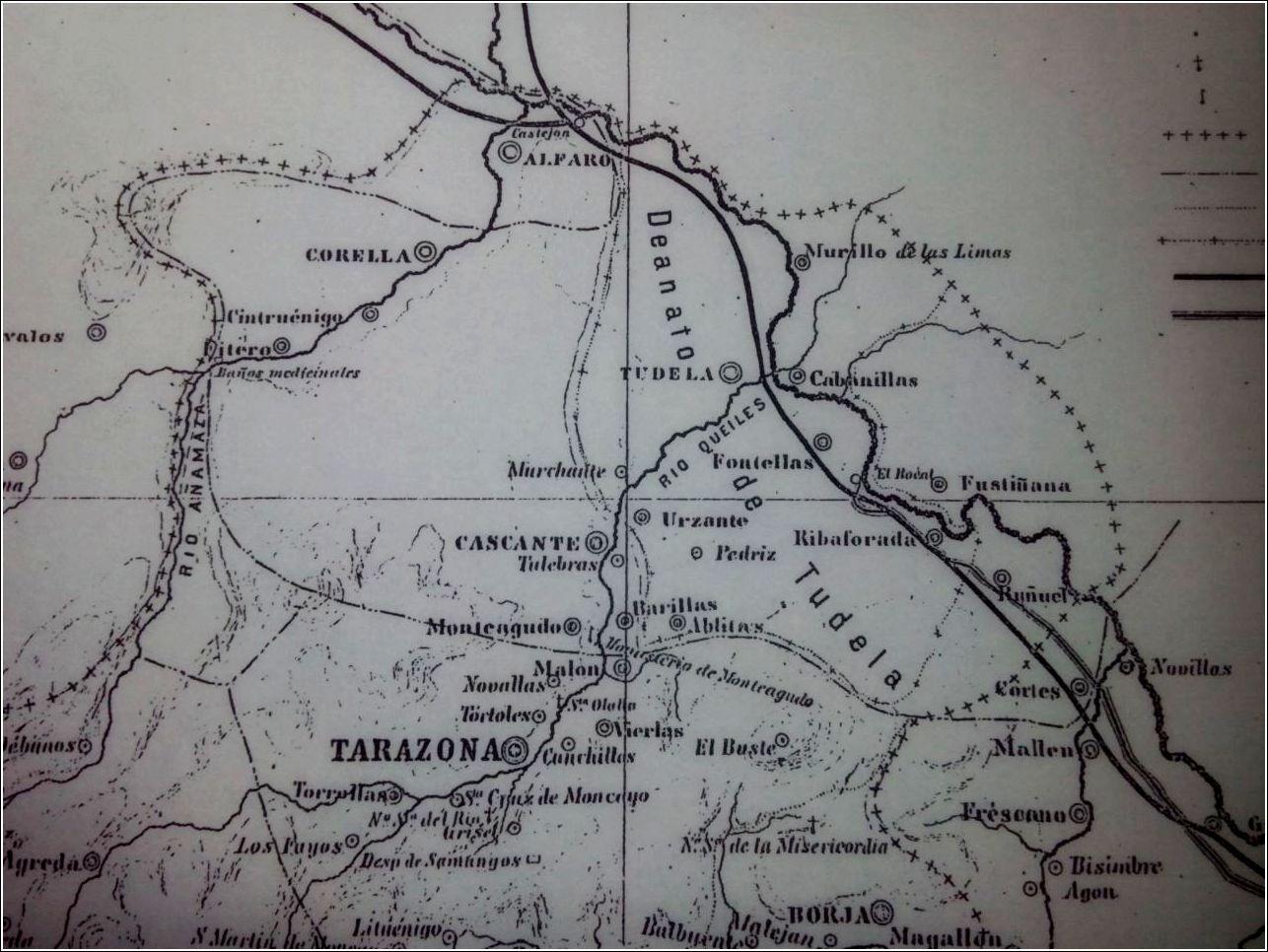 Territorio de la antigua Diócesis de Tarazona en Navarra así como del Deanato de Tudela. No al desmantelamiento de los Archivos Eclesiásticos de la Ribera!!!!.