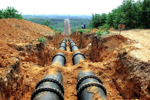 Laying ductile iron pipes pinterest