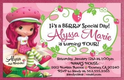 Strawberry shortcake invitations template free places to visit strawberry shortcake invitations template free filmwisefo Gallery