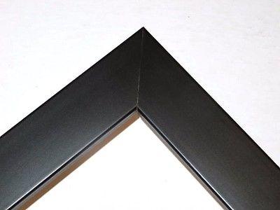 Awesome 1 Flat Black Custom Picture Frame Poster Frame Custom Made
