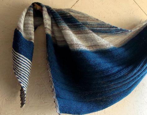 скандинавский платок крючком