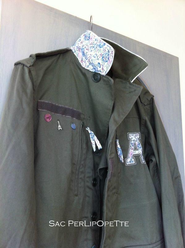 Épinglé sur customiser une veste militaire