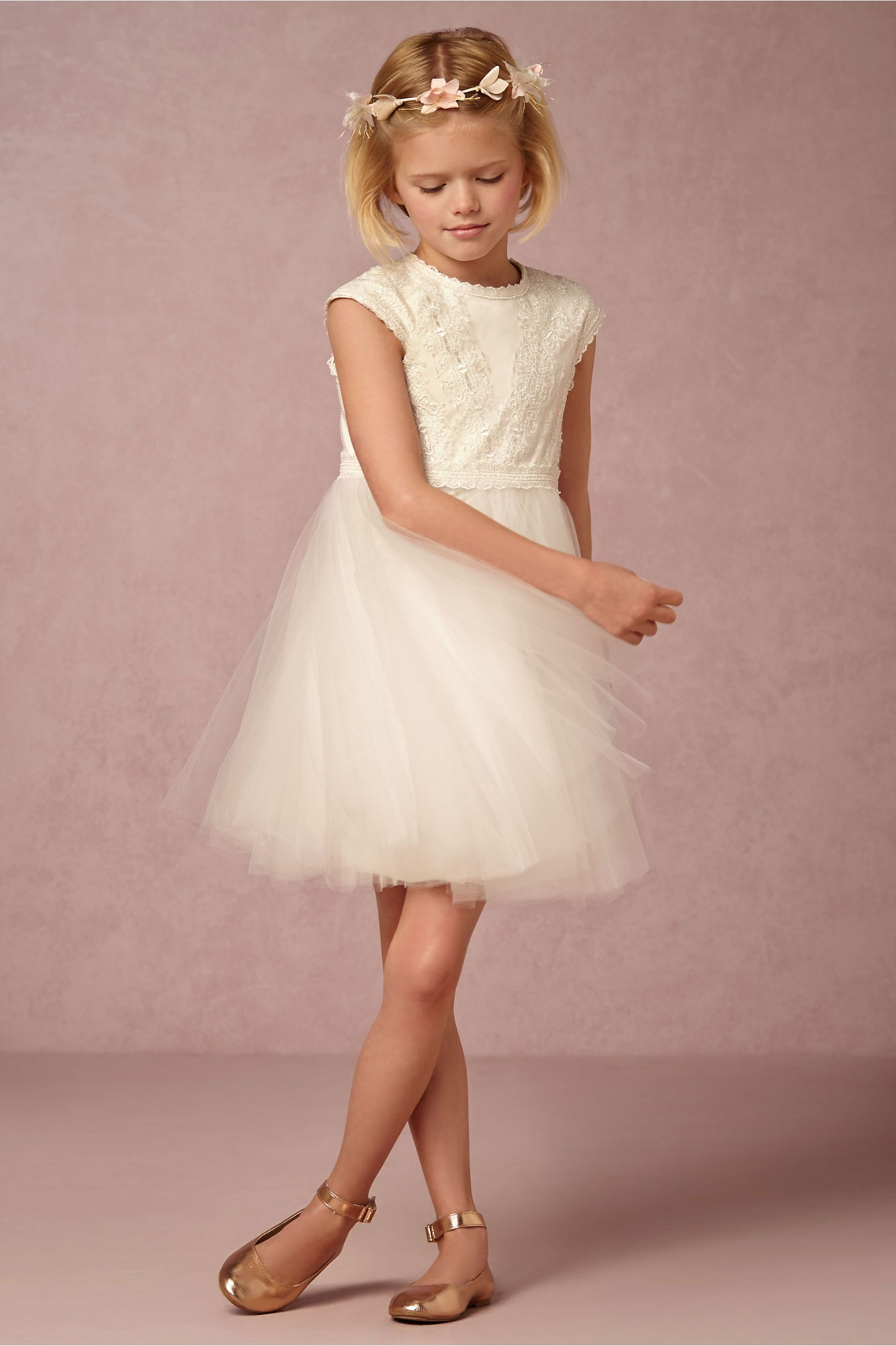 Gracie Dress in Dresses Flower Girl Dresses at BHLDN | wedding ...
