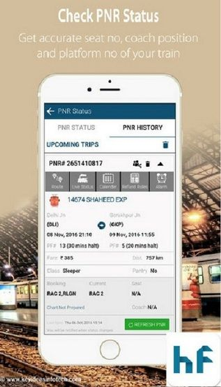 You can check IRCTC issued Ticket's PNR status, get IRCTC and NTES