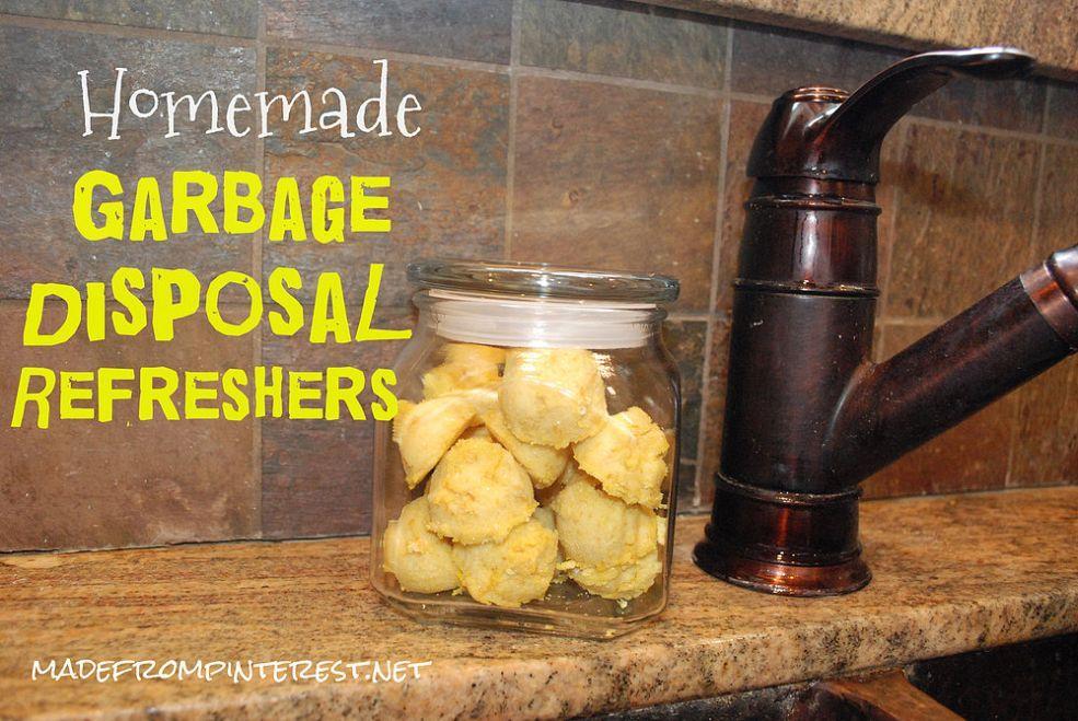Homemade garbage disposal refreshers garbage disposal