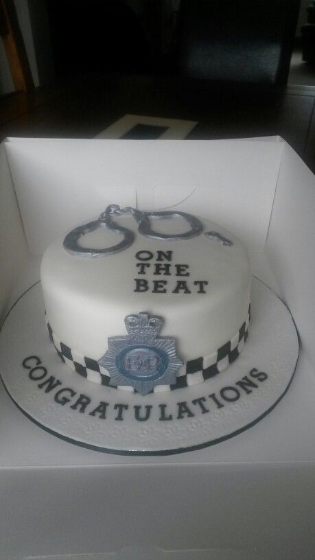 Police Themed Cakes Police Cakes