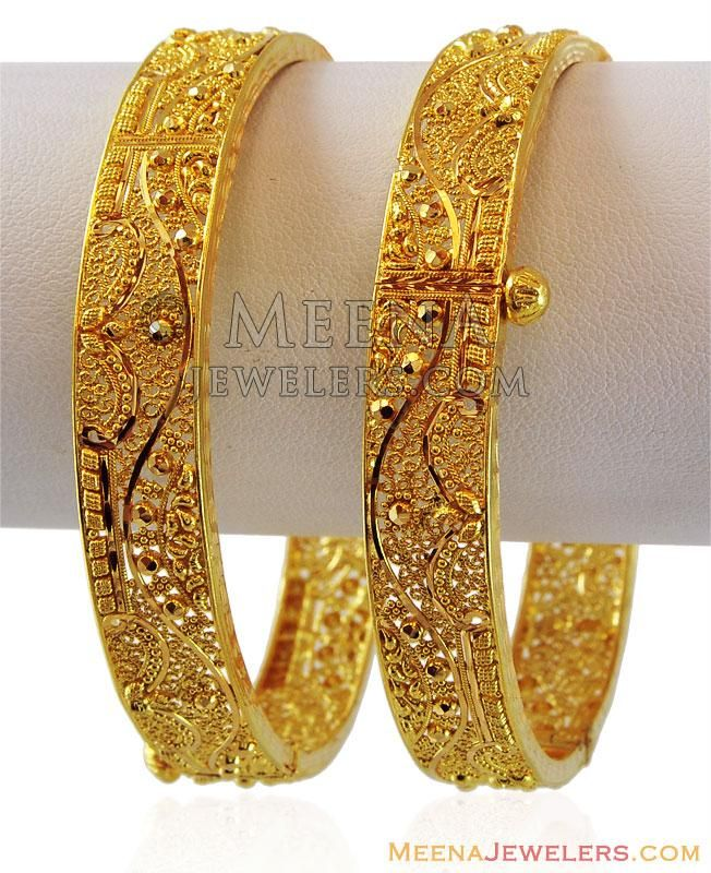 Pin by Manju on Manju Pinterest Bangle Gold jewellery and Gold