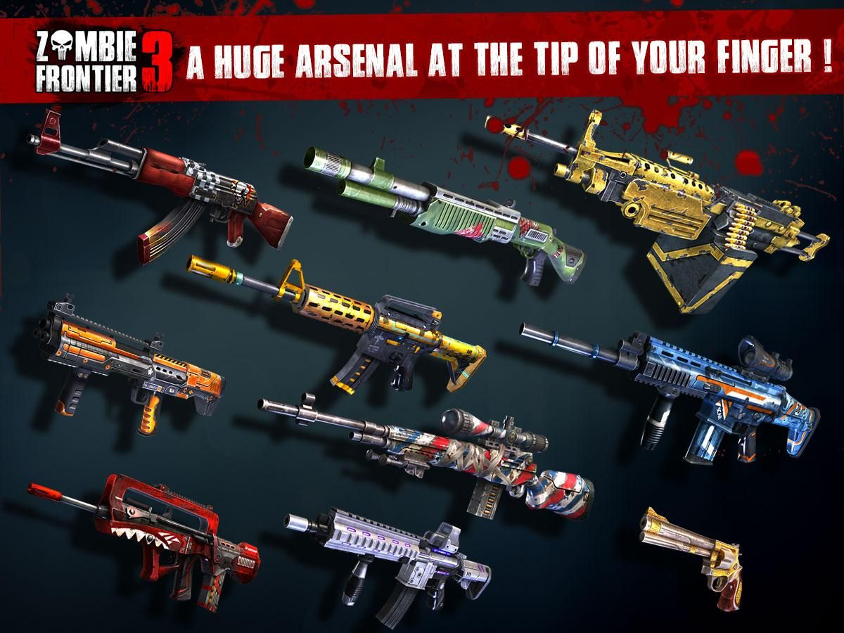 hack zf3d android zf 3d apk mod zombie frontier 3 gift