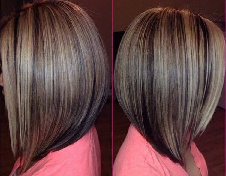 Astounding 1000 Ideas About Medium Stacked Bobs On Pinterest Fall Bob Short Hairstyles Gunalazisus