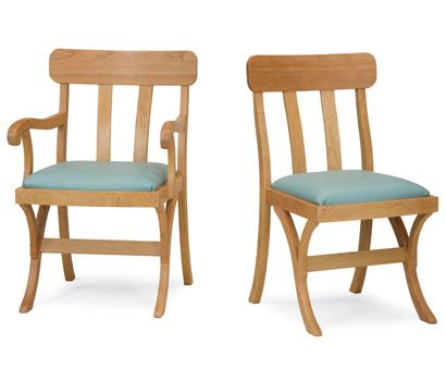 Granville Dining Chair. From Pompanoosuc Mills. American Hardwood Furniture.  Hand Crafted In Vermont
