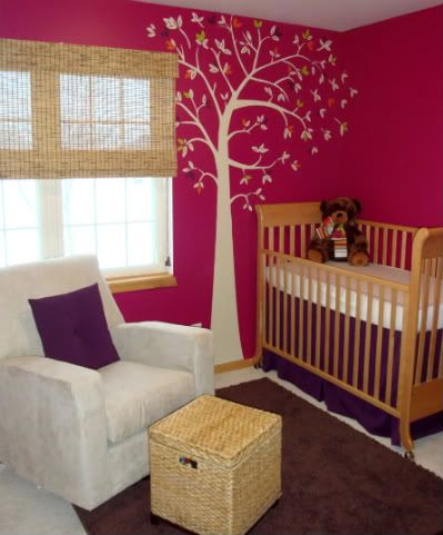 who says baby rooms have to be baby pink?