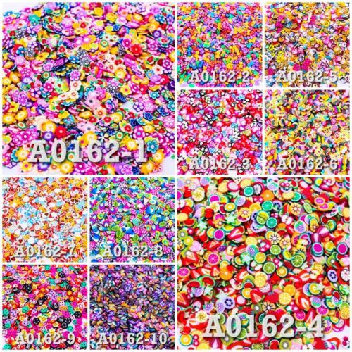 Lot-of-Fimo-Clay-Slice-DIY-Nail-Art-Decoration-Styles-Pattern-UPICK-Craft-A0162