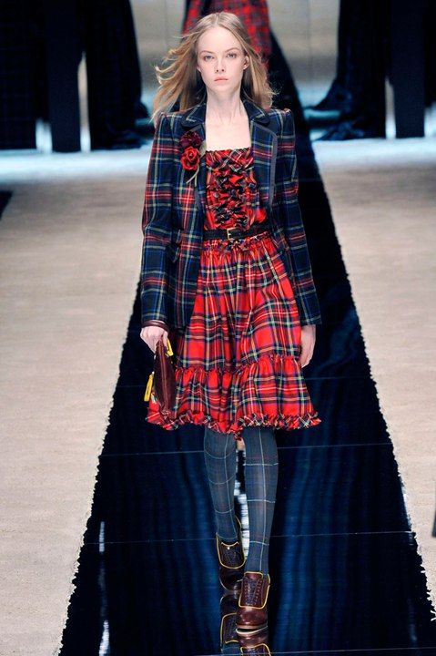 Диалоги | natural style | Plaid fashion, Tartan dress и ... Тартан Платье