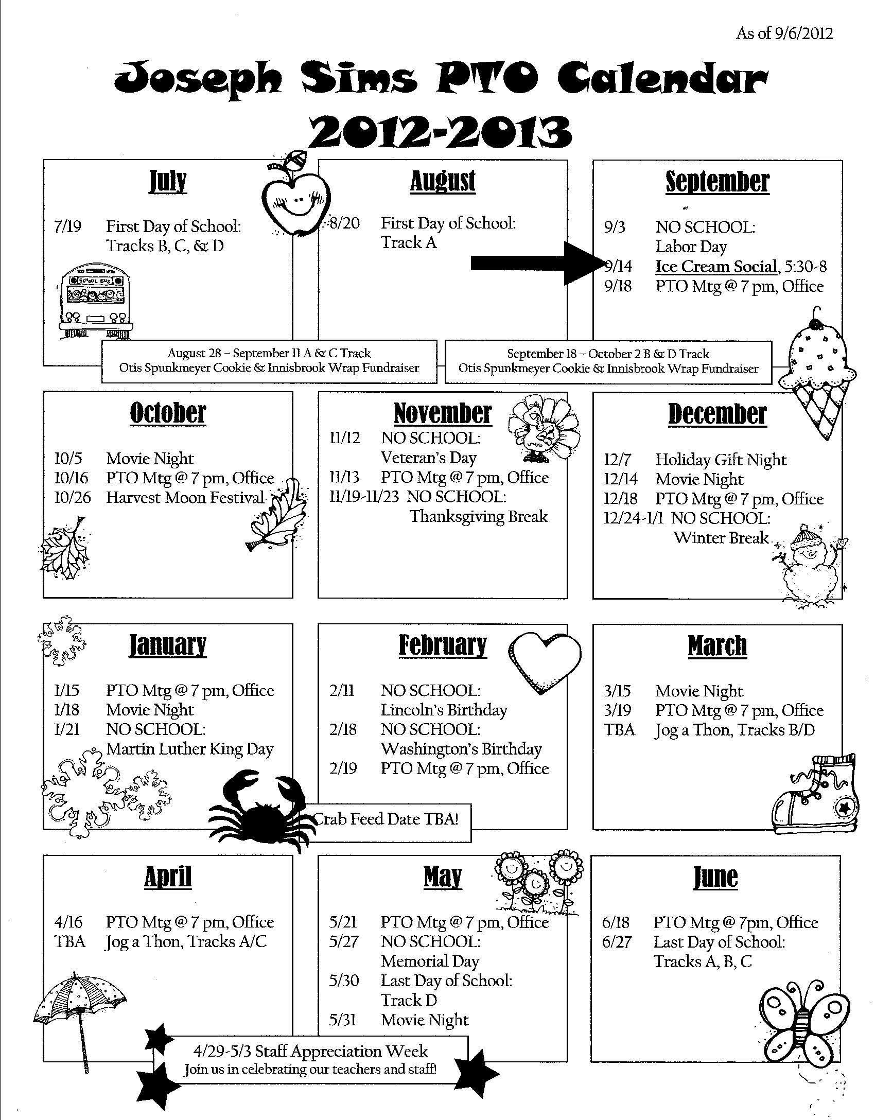 Calendar Newsletter