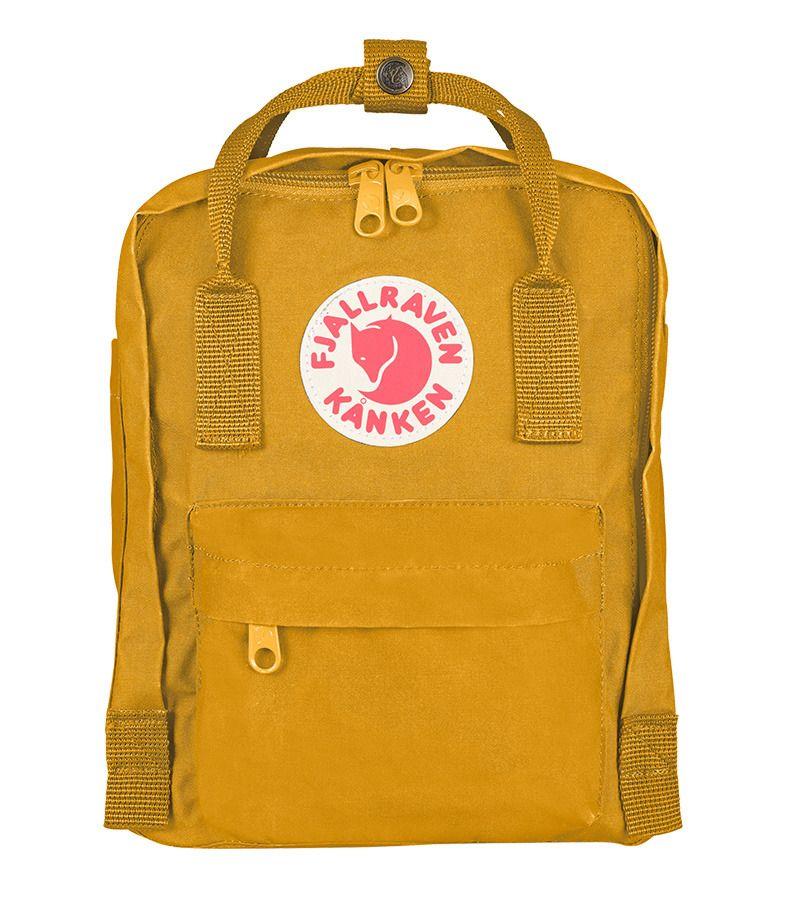 Fjallraven Kanken Classic Backpack Ochre