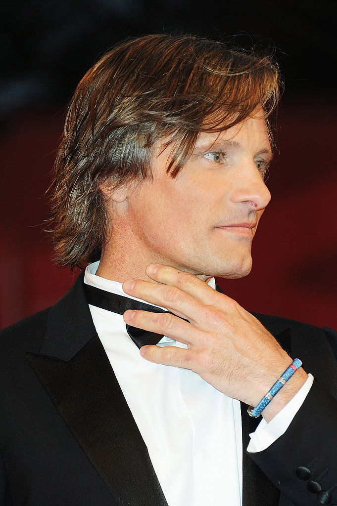 Viggo Mortensen - I love men who wear bracelets - here with a bow tie ! Shows great confidence.