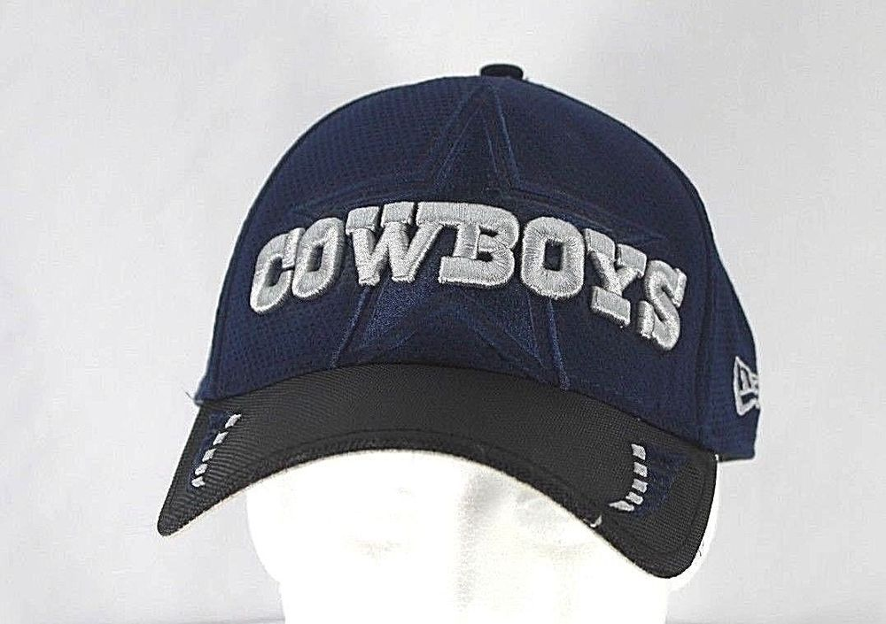 2fdbc4750 Dallas Cowboys Blue/Black NFL Baseball Cap Stretch Fit M/L #NewEra  #BaseballCap