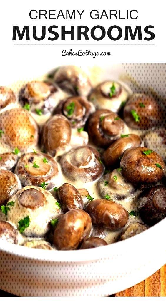 Creamy Garlic Mushrooms Creamy Garlic Mushrooms,