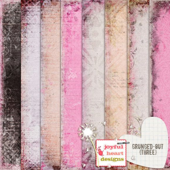 Check out Grunged-Out {three} by Joyful Heart Designs on Creative Market